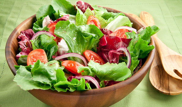 salad with green leafy-netmarkers