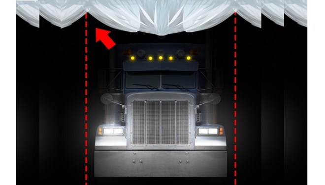Disappearance of a giant truck-Netmarkers