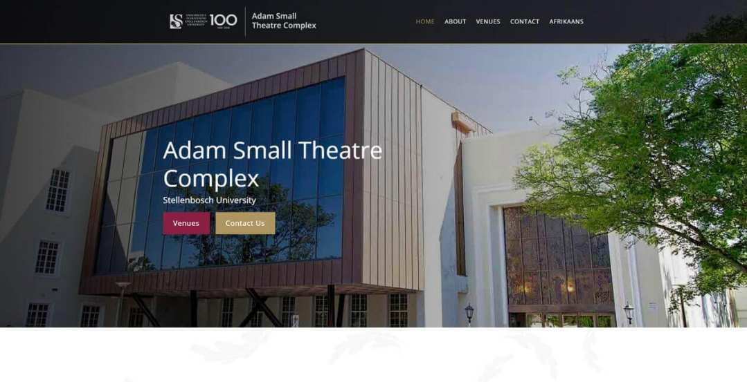 Adam-Small-Home-Page
