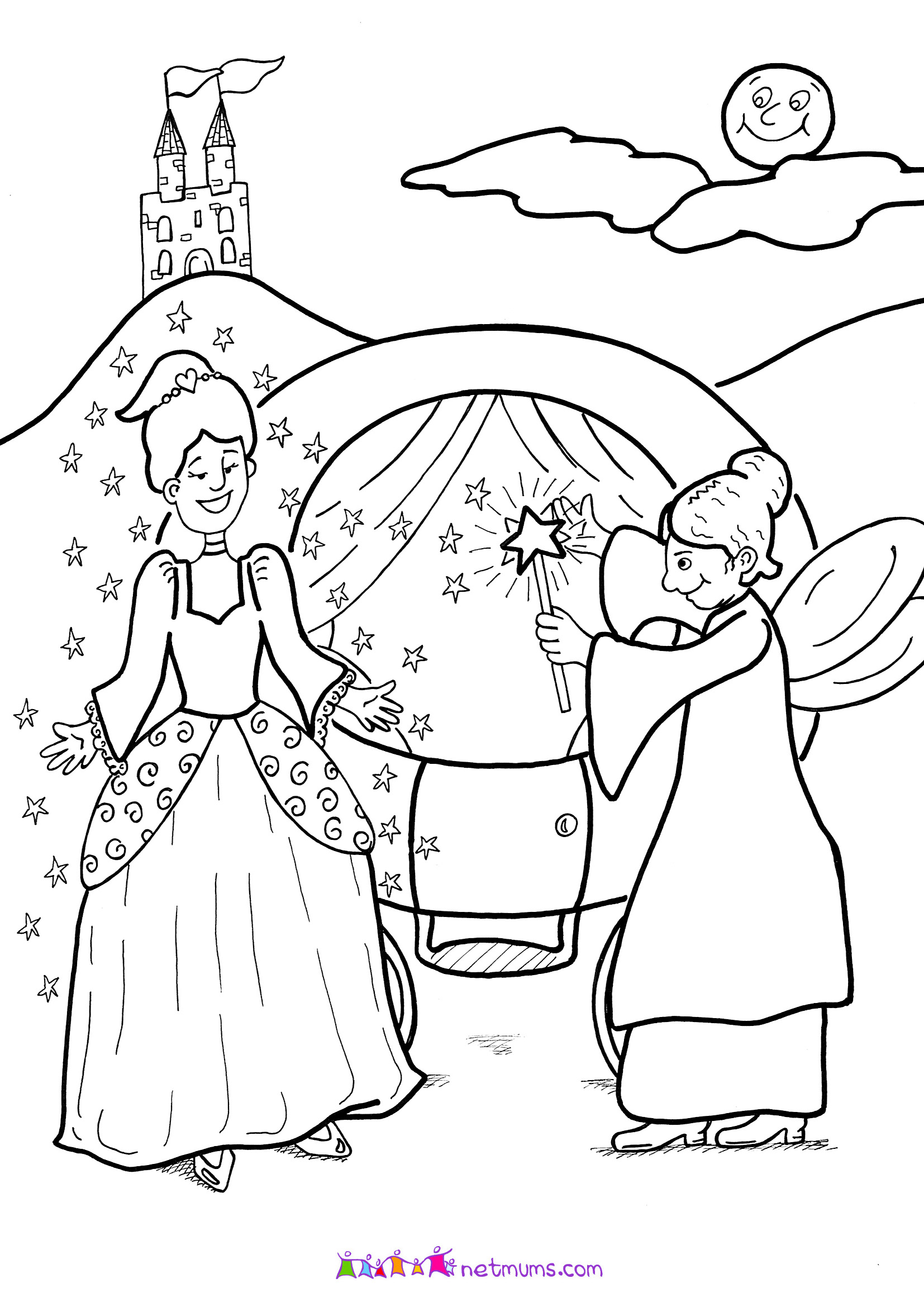 Three Billy Goats Gruff Bridge Coloring Pages Coloring Pages