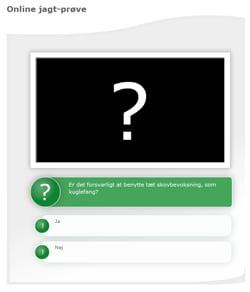Prøv kræfter med den nye cyber-jagtprøve på Skov- og Naturstyrelsens hjemmeside.