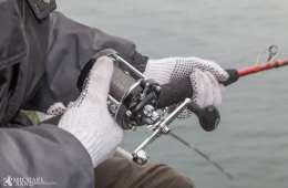 Tun på 400 kg fanget på stang ved Skagen