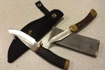 Hvordan holder man kniven skarp?