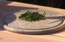 Pesto af strandkarse