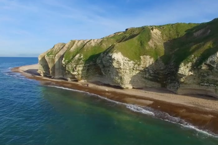 VIDEO Se Bulbjerg i drone-perspektiv