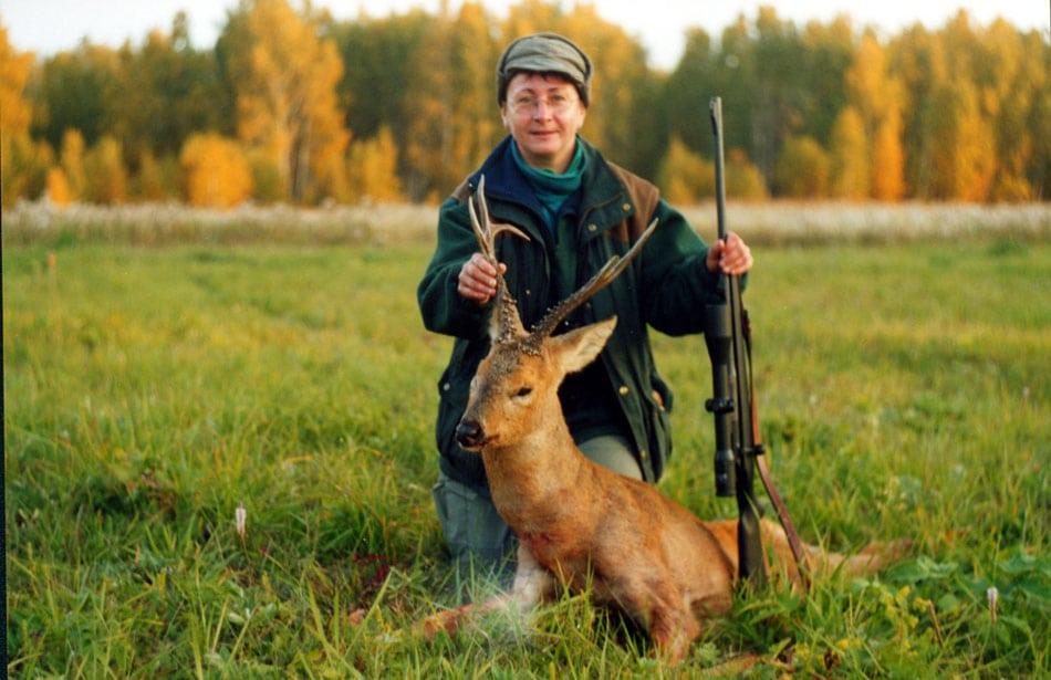 Siberian roe deer 1