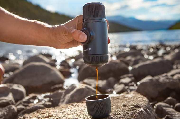 Espresso kværner til turen