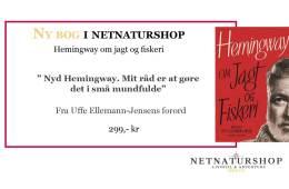 """""""Hemingway om jagt og fiskeri"""" kan nu bestilles i Netnaturshop.dk"""