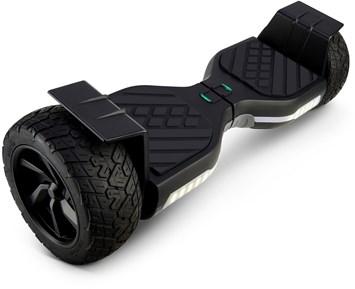 Robust ståhjuling med grove dekk Image