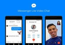 Facebook Messenger Lite con video llamadas
