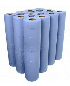 Blue-hygiene-couch-rolls-case-of-12