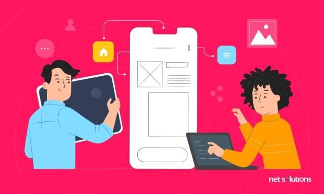 Concevoir l'interface    Comment créer une application en 2021