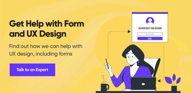 Contactez Net Solutions pour obtenir de l'aide sur la conception de formulaires et d'UX