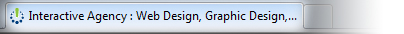 Favicon in a browser's tab