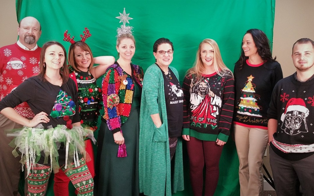 We Have a WINNER – Ugly Christmas Sweater Contest!