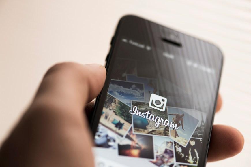Instagram app on Apple iPhone 5
