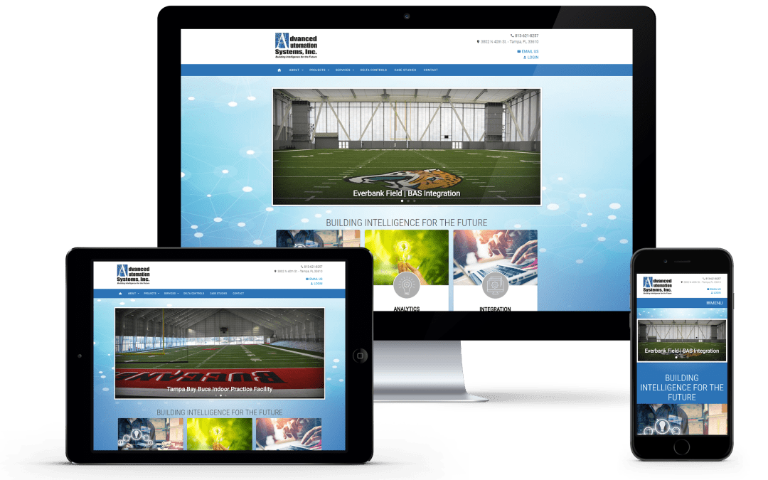 Press Release: Advanced Automation Systems Launches New Custom Website