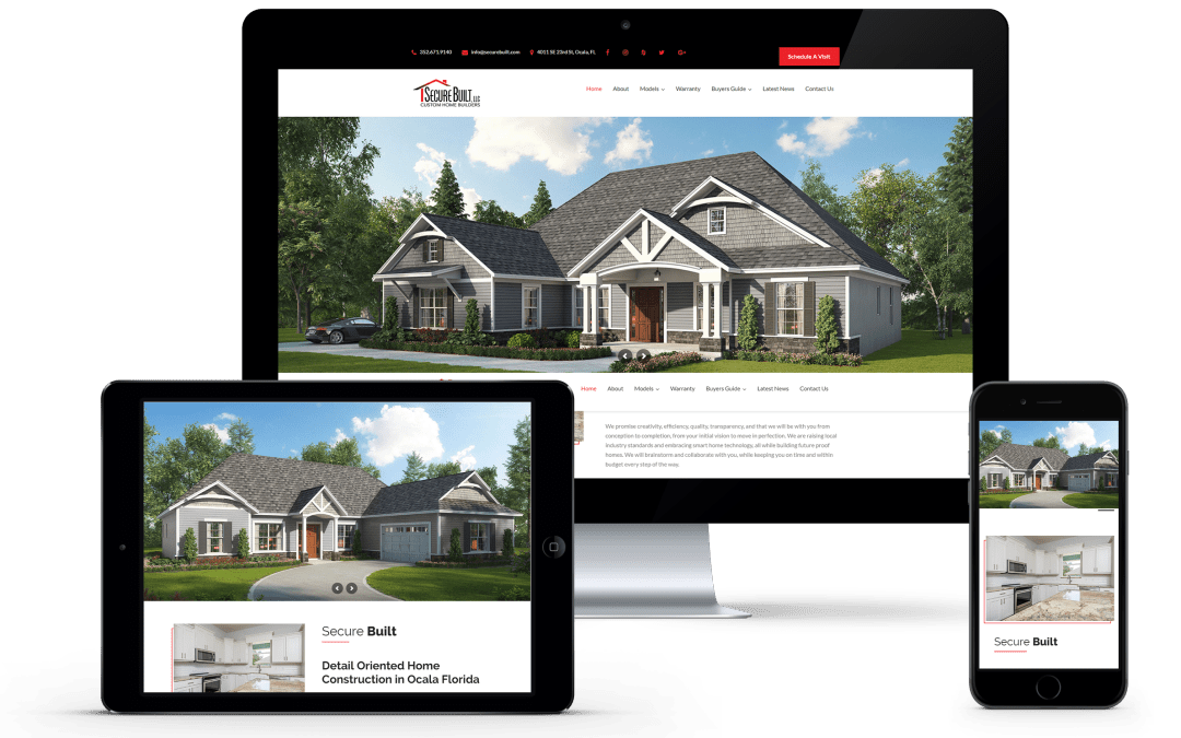 Press Release: Secure Built, LLC Launches Newly Redesigned Website