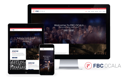 First Baptist Church of Ocala Launches New Website