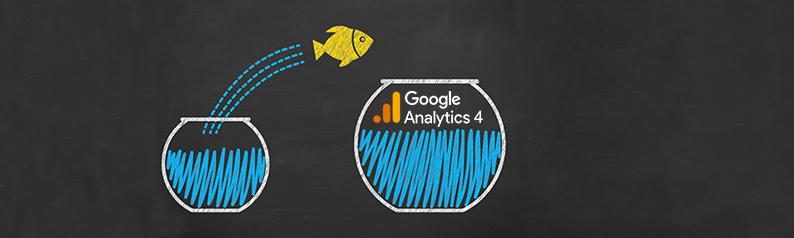 New version of google analytics, GA4