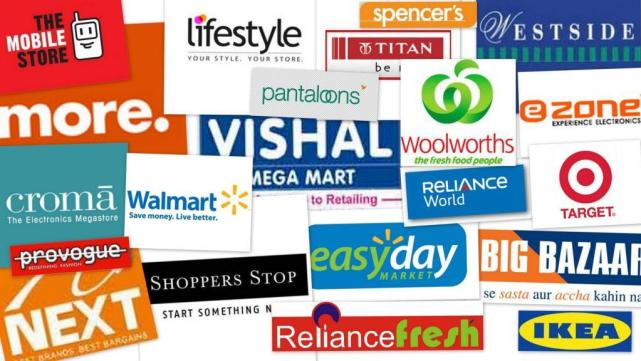 Indian retail brands