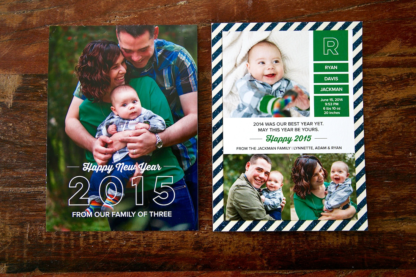 birth announcement new year cards merry christmas and happy new jpg 1400x933 baby announcement and new