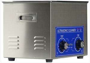 jakan ménage équipement Nettoyeur à Ultrasons en acier inoxydable, Acier inoxydable, gris, 10L Mechanical