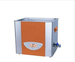Gowe Appareil de nettoyage Lab Double Fréquence Chauffage Bureau Nettoyeur à Ultrasons 6L