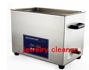 Gowe Jewelry pour 600W, Nettoyeur à Ultrasons Numérique, inoxydable pour bijoux Outils, équipements