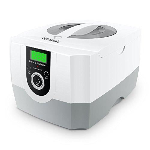 LifeBasis 1.4L Nettoyeur à ultrasons Professionnel Affichage numérique avec réglage de la minuterie Réglable, pour Bijoux, Laboratoires médicaux et dentaires, Magasins de pièces automobiles