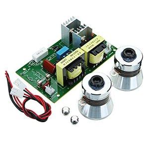 ILS – AC 220V 60W-100W Nettoyeur à ultrasons Conseil du pilote d'alimentation avec 2 pièces 50W 40KHZ Transducteurs