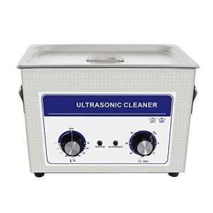 Cgoldenwall Jp-0304.5L à ultrasons Bijoux machine de nettoyage nettoyeur à ultrasons pour prothèses dentaires Vaisselle de pièces en métal à ultrasons appareil de nettoyage mécanique Chauffage + Minuteur