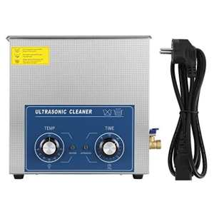 Nettoyeur à Ultrasons Professionnel, 1 Pièces en Acier inoxydable Nettoyeur à ultrasons Chauffé Machine avec panier (Variété de Tailles: 2L/ 3L/ 6L/ 10L/ 14L/ 15L/ 19L/ 22L)(14L)
