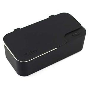 Nettoyeur à ultrasons élégant pour Nettoyer Les Verres à Bijoux 450 ML, Noir, U.S. regulations