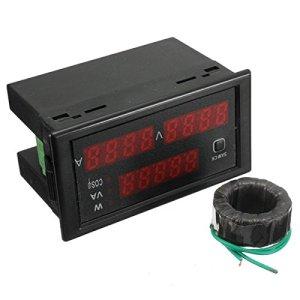 AC 110-220V 100A numérique Watt Power Meter 80-300V