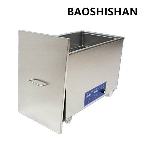 BAOSHISHAN 38L Nettoyeur à ultrasons haute fréquence Machine de nettoyage par ultrasons industrielle avec panier pour le nettoyage des lunettes, des bijoux, etc. 120 KHZ