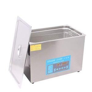 Cgoldenwall Kj-11030al 22L laboratoire Utilisation à ultrasons machine de nettoyage nettoyeur à ultrasons Engine Gastroscope filtre Aspirateur + 10% -100% Minuteur réglable