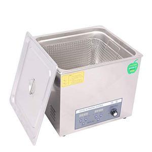 Cgoldenwall Ps-70al 19L Digital nettoyeur à ultrasons de golf à ultrasons machine de nettoyage Boule de bowling à ultrasons Rondelle (Puissance réglable )