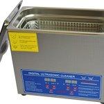 Hot dentaire en acier inoxydable 6L nettoyeur à ultrasons machine de nettoyage Jps-30a avec panier