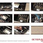 Octopus 250 ML nettoyant à gicleurs, Nettoyeur de têtes d'Impression pour Les têtes Epson avec Adaptateur de Tuyau (Non OEM)