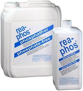 Rea-phos® Concentré de nettoyage sans phosphate, 1000 ml Kunststoffflasche, 1