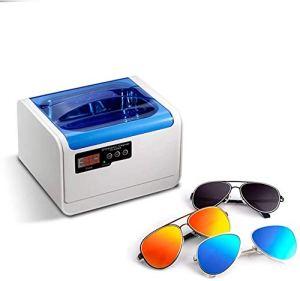 Ménage Nettoyeur à ultrasons Nettoyage 1.4L numérique Minuteur Machine à ultrasons for les diamants lunettes Montre anneau dentiers yqaae (Color : -)