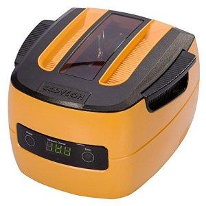1,4 L Nettoyeur à ultrasons Commercial Sonique Vague Inoxydable Acier Réservoir , Plastique Panier, Bijoux & Monocle Nettoyage Machine Orange