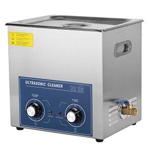 14L professionnel en acier inoxydable nettoyeur à ultrasons machine de nettoyage mécanique Chauffage Courroie réglable haute capacité 110V/220V