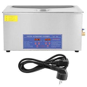22l Nettoyeur à Ultrasons Numérique Minuterie Affichage Machine de Nettoyage à Ultrasons Avec Câble D'alimentation de L'ue pour Bijoux et Lunettes