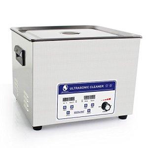 Cgoldenwall Jp-060s 15L à ultrasons machine de nettoyage pour dentier Bracelet nettoyeur à ultrasons appareil de nettoyage à ultrasons Vaisselle de pièces en métal