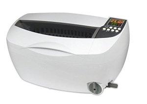 Nettoyeur à ultrasons 3L Commercial LCD Numérique Afficher Nettoyage Machine, Couleur blanche, Plastique Panier
