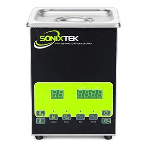 Sonixtek Série SD 2L Nettoyeur à ultrasons pour ménage et bijoux, horloges dentaires