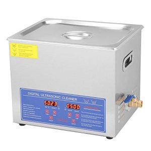 Numérique Nettoyeur Ultrason, 10L Numérique Nettoyage à Ultrasons avec Minuteur- Réservoir Inoxydable
