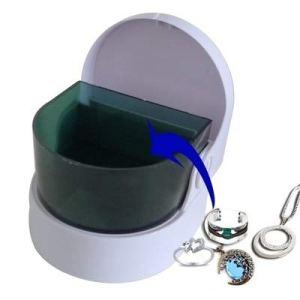 Cuisine & Maison Nettoyeur à ultrasons for bijoux/montre/dentier Les fournitures de nettoyage